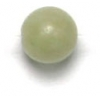 Semi-Precious 6mm Round Green China Nephrite